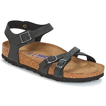 Schuhe Damen Sandalen / Sandaletten Birkenstock KUMBA SFB Schwarz