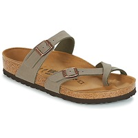 Schuhe Damen Pantoffel Birkenstock MAYARI Grau