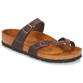 Schuhe Damen Pantoffel Birkenstock MAYARI Braun