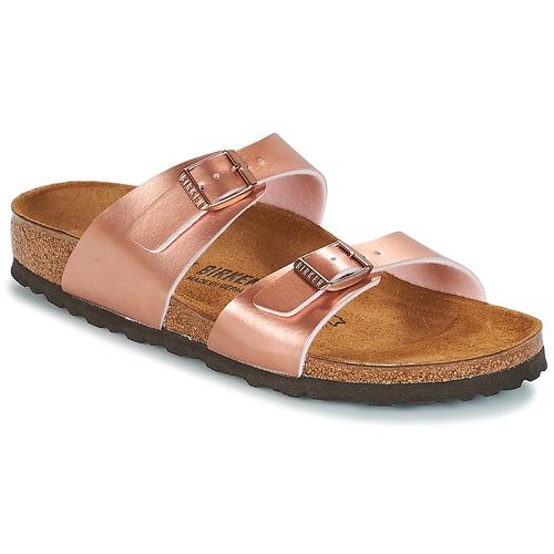 Birkenstock SYDNEY Rose Pantoffel / Gold  Schuhe Pantoffel Rose Damen 52,49 728ba3