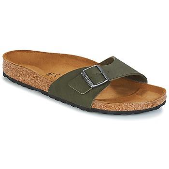 Schuhe Herren Pantoffel Birkenstock MADRID Grün