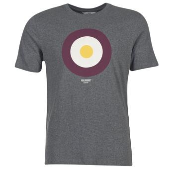 Kleidung Herren T-Shirts Ben Sherman THE TARGET TEE Grau