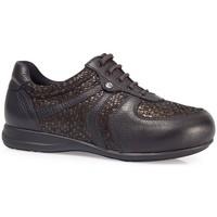 Schuhe Damen Sneaker Low Calzamedi SCHUHE  DIABETISCHE ELASTISCHE SCHAUFEL W BRAUN