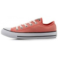 Schuhe Damen Sneaker Low Converse CTAS OX ULTRA RED BLACK WHITE rouge
