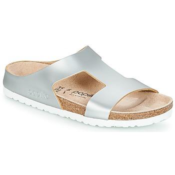 Schuhe Damen Pantoffel Papillio CHARLIZE Silbern