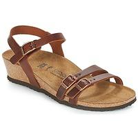 Schuhe Damen Sandalen / Sandaletten Papillio LANA Cognac