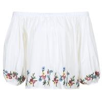 Kleidung Damen Tops / Blusen Moony Mood IFITI Weiss