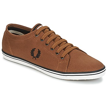 Schuhe Herren Sneaker Low Fred Perry KINGSTON TWILL Braun
