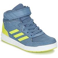 Schuhe Jungen Sneaker High adidas Performance ALTASPORT MID EL K Blau