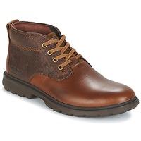 Schuhe Herren Boots Caterpillar TRENTON Braun