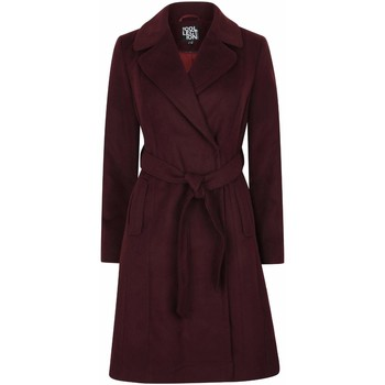 Kleidung Damen Trenchcoats Anastasia Wickel-Wintermantel für Damen Red