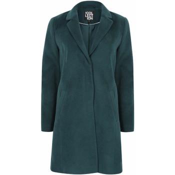 Kleidung Damen Mäntel Anastasia Damen Zip Wintermantel mit Gürtel Green