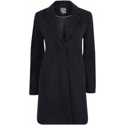 Kleidung Damen Mäntel Anastasia Damen Zip Wintermantel mit Gürtel Blue