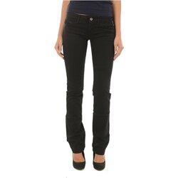 Kleidung Damen Straight Leg Jeans Meltin'pot MELIA G2311 GT000 Schwarz