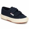 Schuhe Kinder Sneaker Low Superga 2750 STRAP Marine