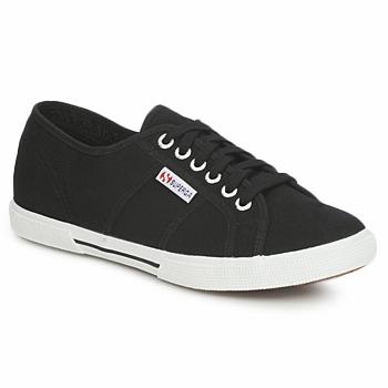 Schuhe Sneaker Low Superga 2950 COTU Schwarz