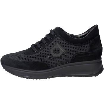 Schuhe Damen Sneaker Low Agile By Ruco Line Agile By Rucoline  1304(A12) Niedrige Sneakers Damen Schwarz Schwarz