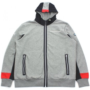 Kleidung Herren Sweatshirts Puma BMW MSP HOODED SWEAT JACKET Gris