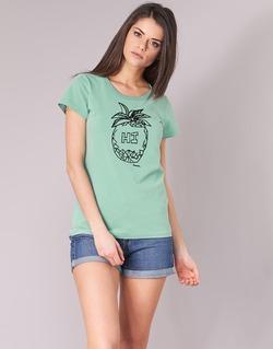 Kleidung Damen T-Shirts Bench BLWG002642 Grün