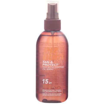 Beauty Sonnenschutz & Sonnenpflege Piz Buin Tan & Protect Oil Spray Spf15  150 ml