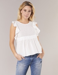 Kleidung Damen Tops / Blusen Betty London INNATOUNE Weiss