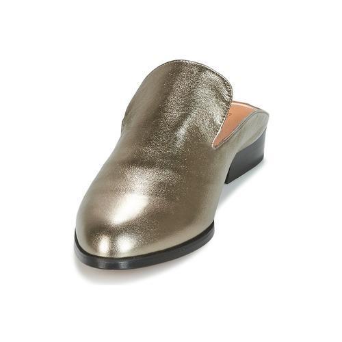 Robert Robert Robert Clergerie COULIPAID Silbern  Schuhe Pantoffel Damen 292 44347f