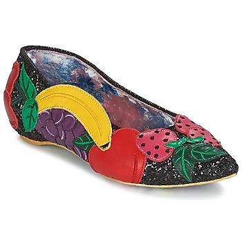 Schuhe Damen Ballerinas Irregular Choice BANANA BOAT Schwarz