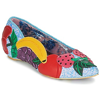 Schuhe Damen Ballerinas Irregular Choice BANANA BOAT Blau