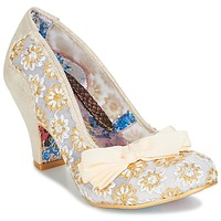 Schuhe Damen Pumps Irregular Choice PALM COVE Beige