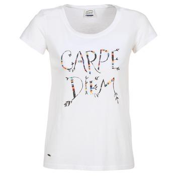 Kleidung Damen T-Shirts Oxbow K1TEANA Weiss