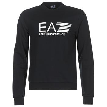 Kleidung Herren Sweatshirts Emporio Armani EA7 TRAIN VISIBILITY Schwarz