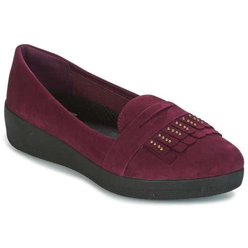 FitFlop LOAFER Violett  Schuhe Ballerinas Damen 75,92
