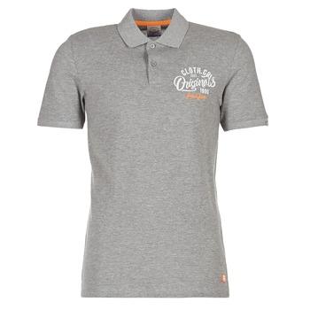 Kleidung Herren Polohemden Jack & Jones JORTRAST Grau