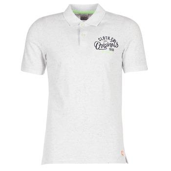 Kleidung Herren Polohemden Jack & Jones JORTRAST Weiss