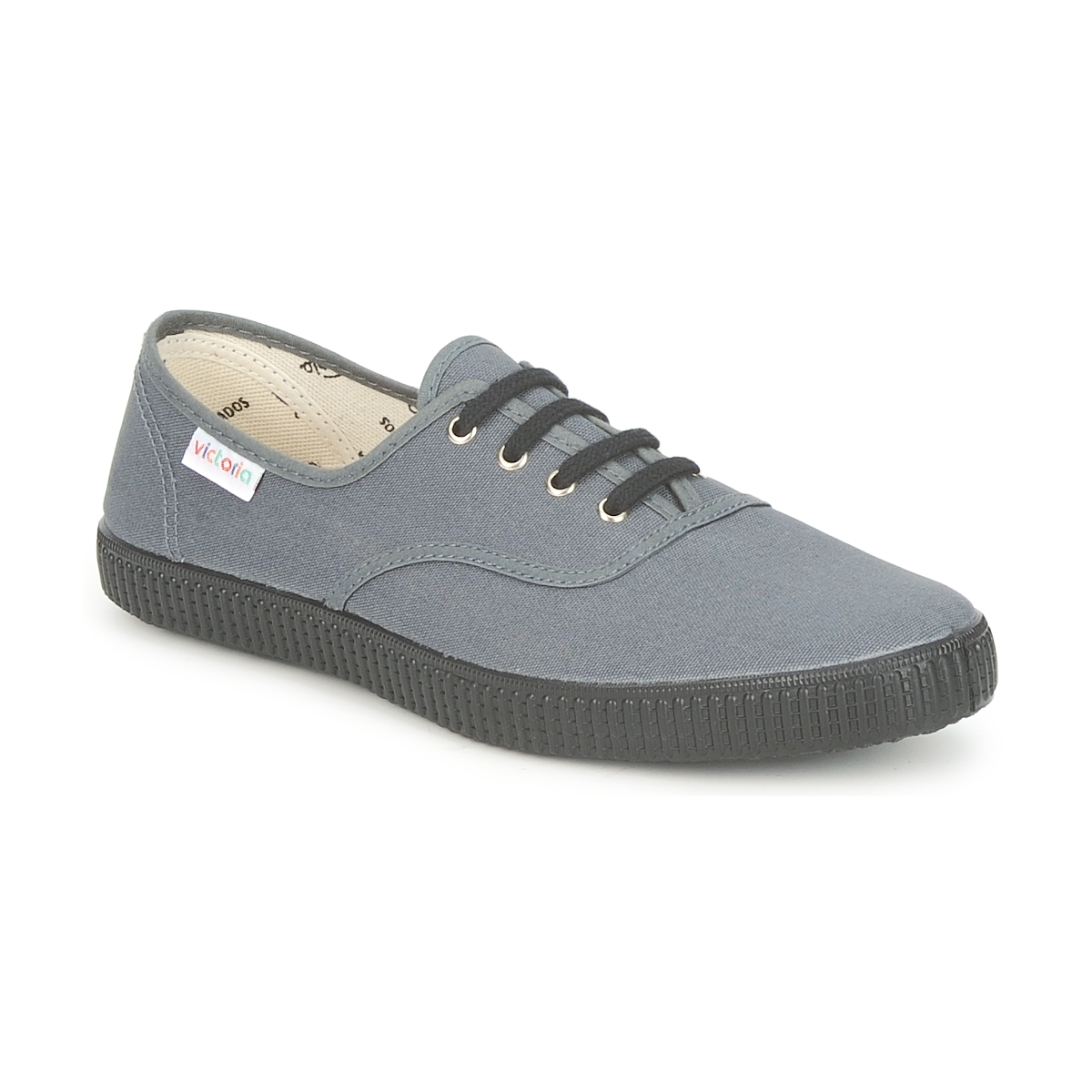Victoria INGLESA LONA PISO Anthrazit Spartoode - Kostenloser Versand bei Spartoode Anthrazit ! - Schuhe Sneaker Low  14,50 € a8ee8d