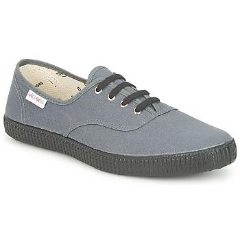 Schuhe Sneaker Low Victoria INGLESA LONA PISO Anthrazit