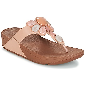 Schuhe Damen Zehensandalen FitFlop HONEYBEE JEWELLED TOE Rose