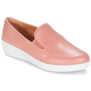Schuhe Damen Slip on FitFlop SUPERSKATE Rose