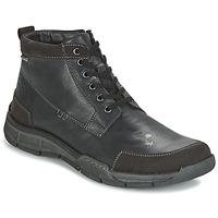 Schuhe Herren Sneaker High Josef Seibel PHIL 03 Schwarz