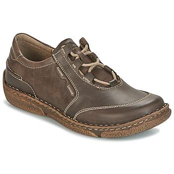 Schuhe Damen Derby-Schuhe Josef Seibel NEELE 28 Braun / Grün
