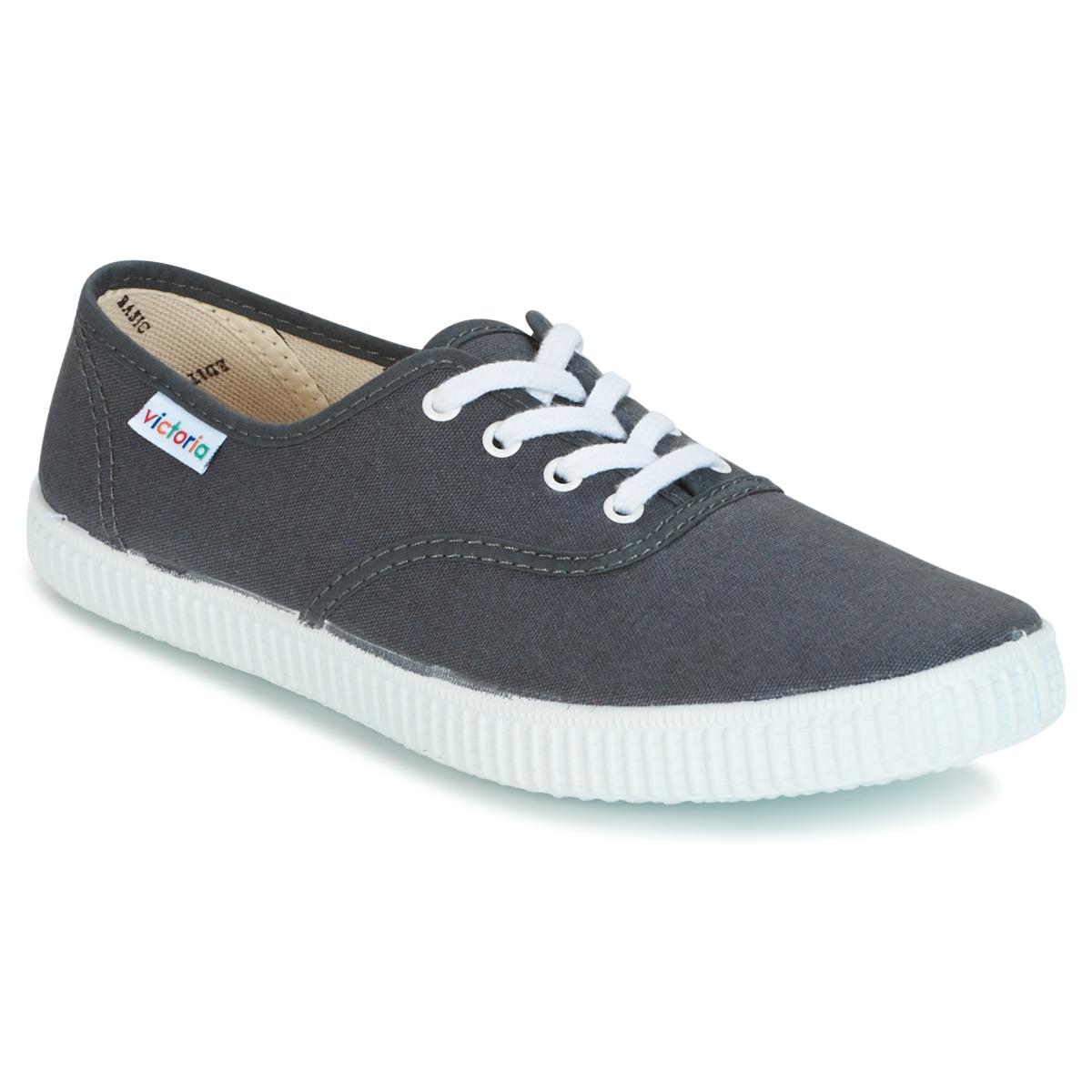 Victoria INGLESA LONA Anthrazit - Kostenloser Versand bei Spartoode ! - Schuhe Sneaker Low  23,20 €