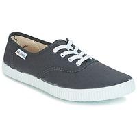 Schuhe Sneaker Low Victoria INGLESA LONA Anthrazit