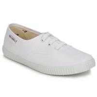 Schuhe Kinder Sneaker Low Victoria INGLESA LONA KID Weiss