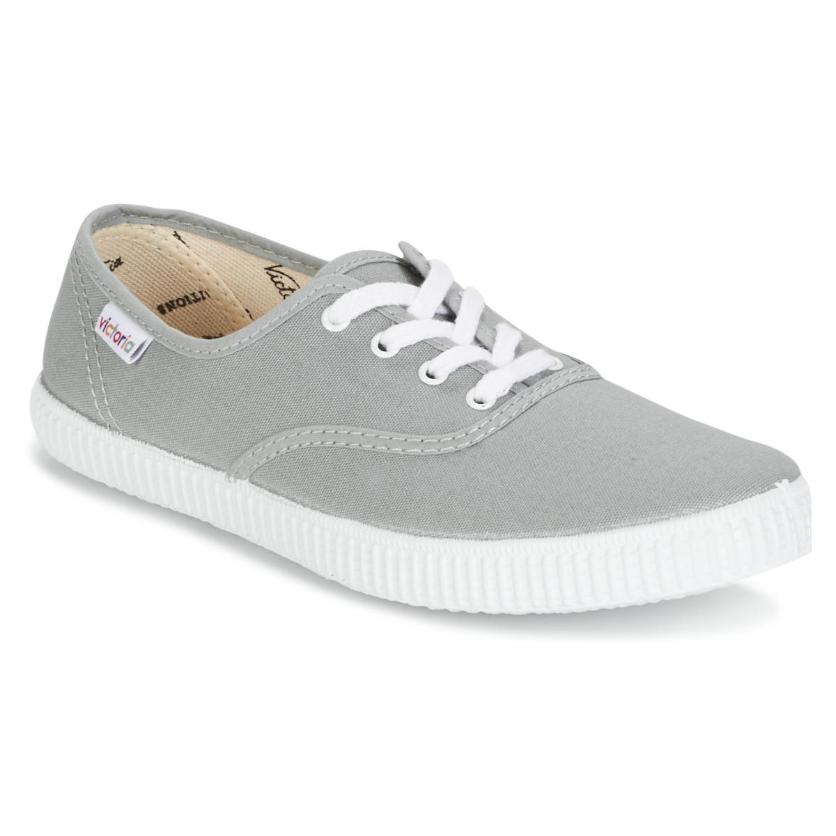5abe204ee3bce4 Victoria INGLESA LONA Grau - Kostenloser Versand bei Spartoode ! - Schuhe  Sneaker Low 20
