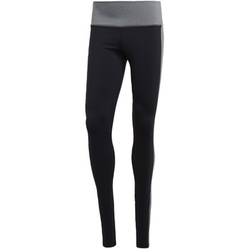 Kleidung Damen Leggings adidas Performance Believe This High-Rise Heathered Tight Schwarz