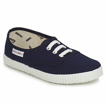 Schuhe Kinder Sneaker Low Victoria 6613 KID Blau