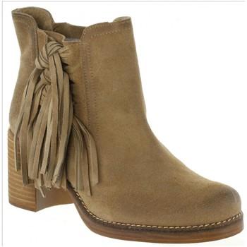 MTNG 94467 Beige - Kostenloser Versand |  - Schuhe Low Boots Damen 7599