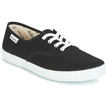 Schuhe Sneaker Low Victoria INGLESA LONA Schwarz