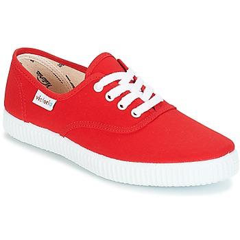 Victoria INGLESA LONA Rot - Kostenloser Versand bei Spartoode ! - Schuhe Sneaker Low  20,30 €