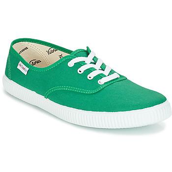 Schuhe Sneaker Low Victoria INGLESA LONA Grün